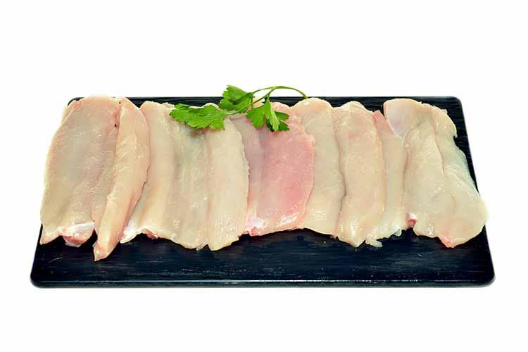 Pit de pollastre a filets