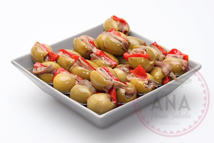 gordal anchoa y pimiento